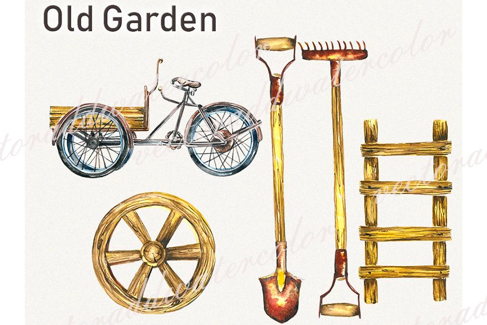 Garden clipart, spring clipart, garden tools,pansy clipart example image 3