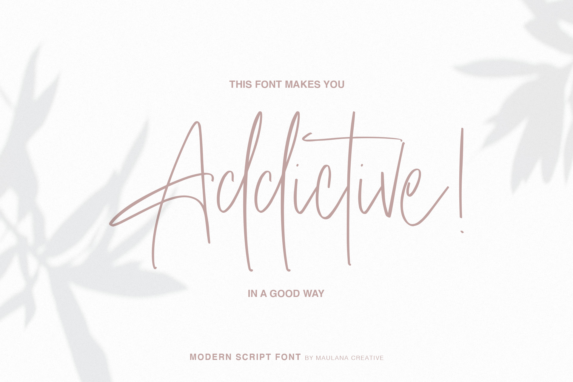 Birch Candles - Handwritten Font example image 6