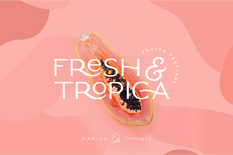 Classy Marisa - Elegant Fashion Stylish Typeface example image 9