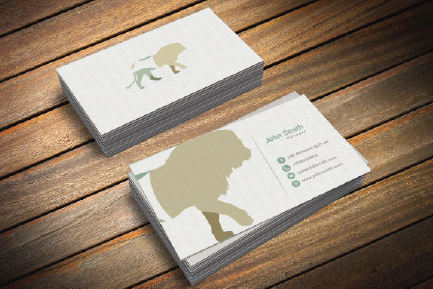 4 Business Card Designs example image 2