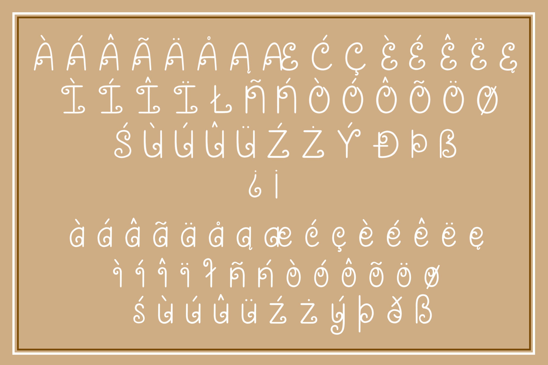 Caramel Swirl - A fun and swirly font example image 4