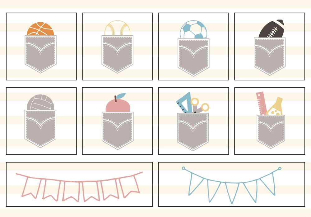 Back To School SVG Cut File Bundle example image 6