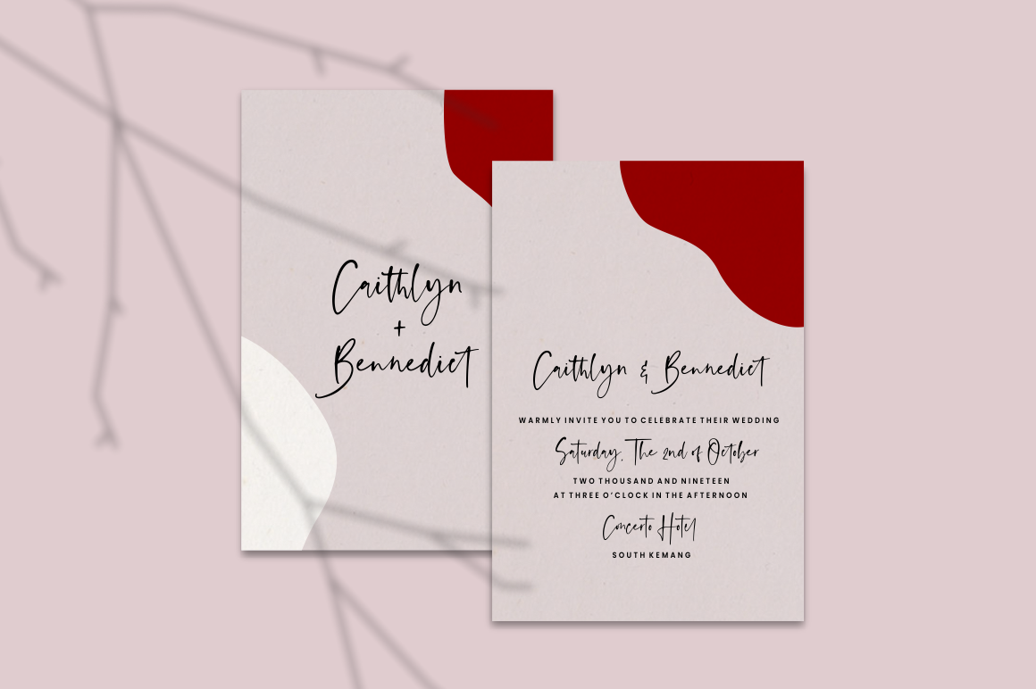 Anastacy - Handlettered Font example image 2