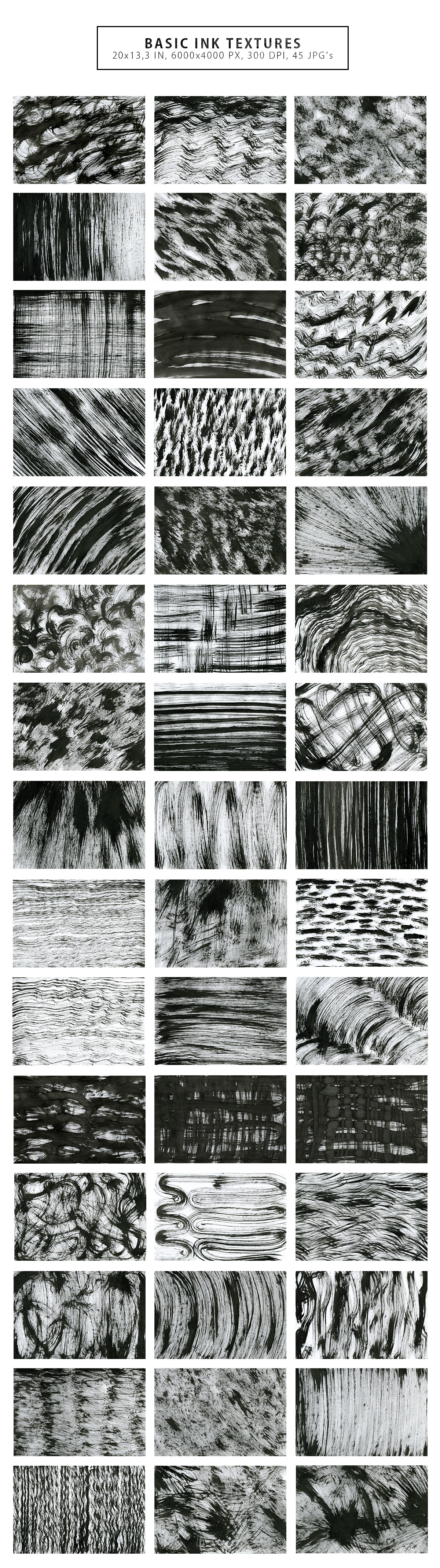 Only Ink & Marble Backgrounds Bundle example image 22