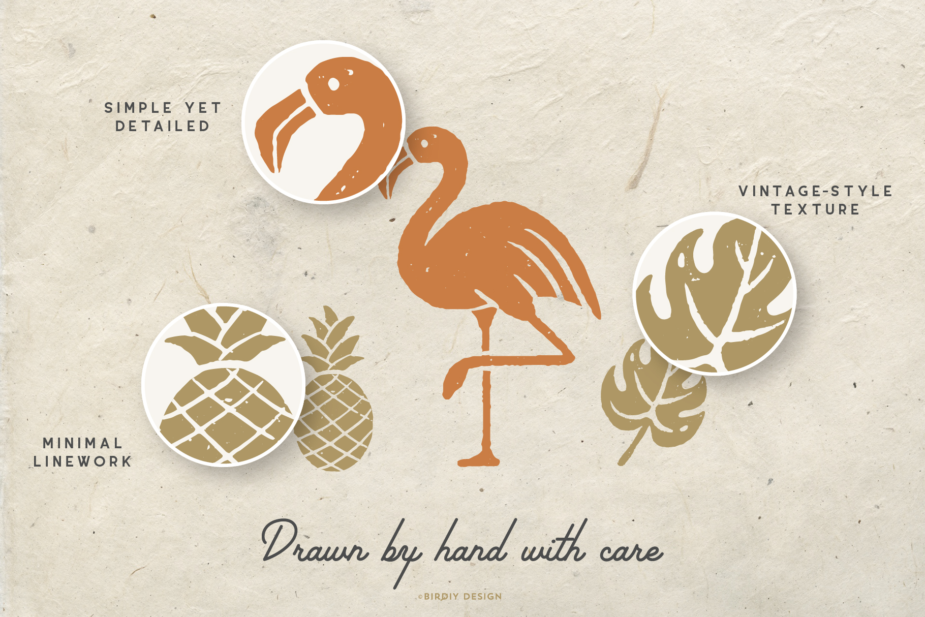 Summer Icons Hand Drawn Graphics Set example image 7