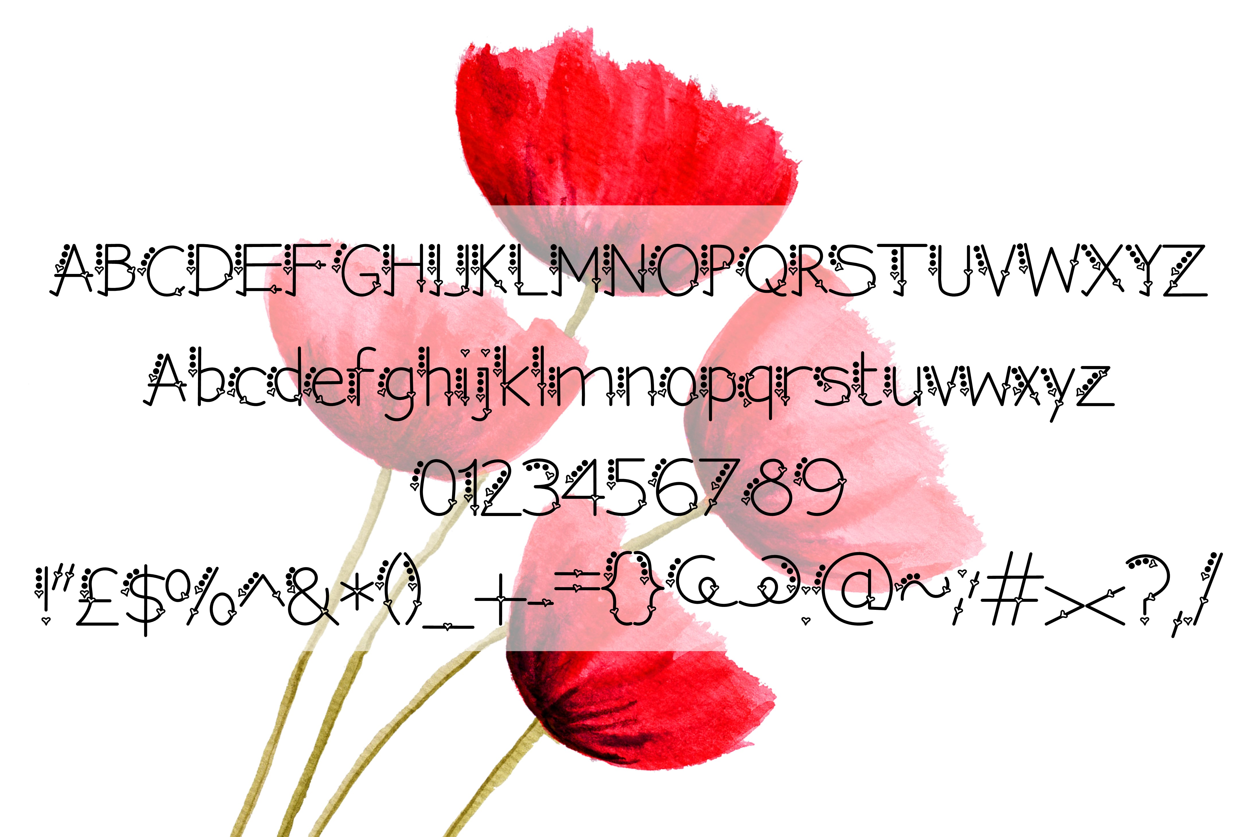 I love this font example image 3