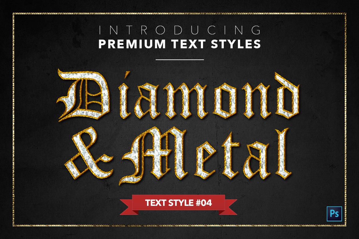 Diamond & Metal #1 - 15 Text Styles example image 5