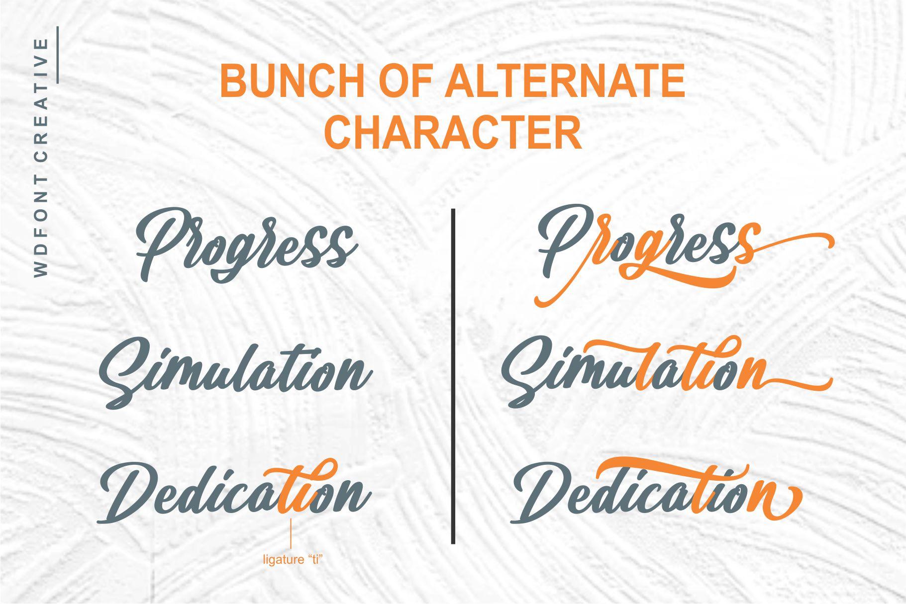 Rauzatul Script | Modern Stylish Font example image 3