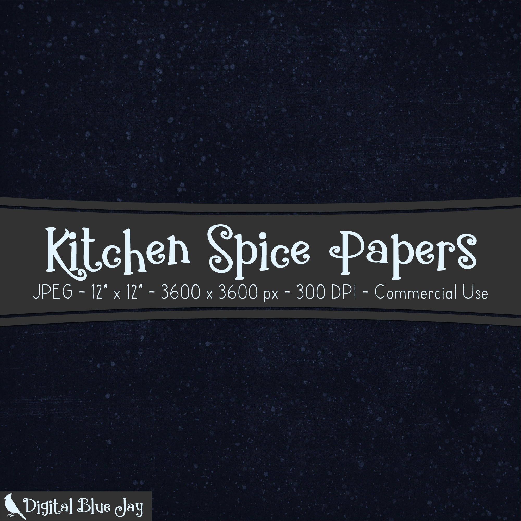 Digital Paper Textured Backgrounds - Kitchen Spice example image 2