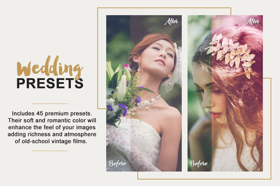 Wedding Lightroom Presets Collection example image 2