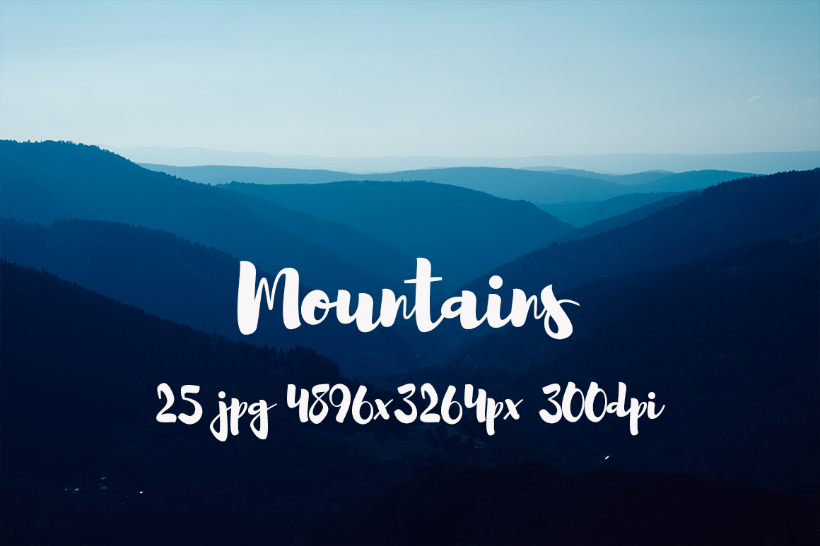 Mountains Pack example image 1