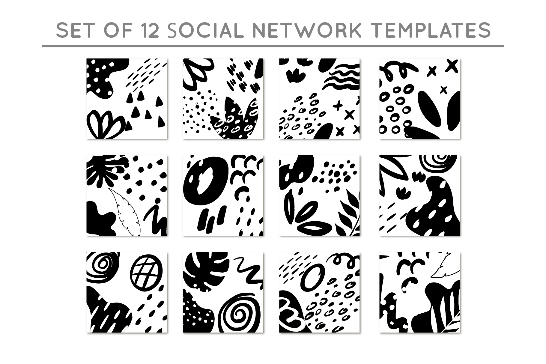 Social network templates/Elements example image 7