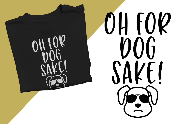 Oh for dog sake Printable example image 1