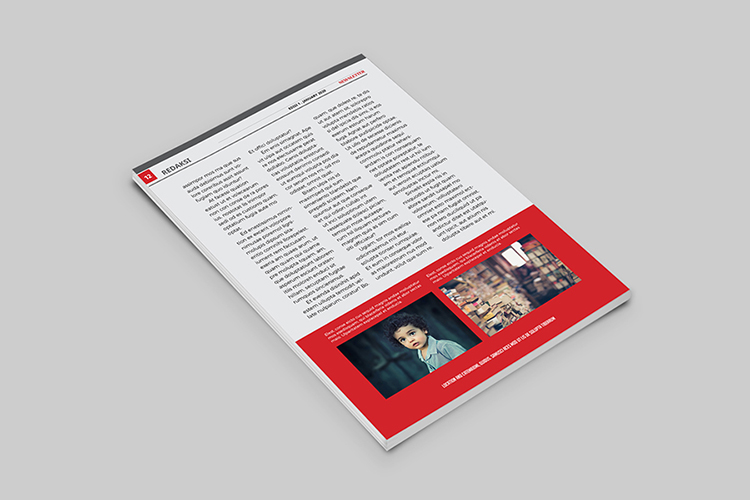 Educational Newsletter Template example image 7