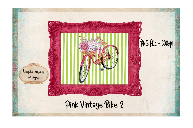 Pink Vintage Bike example image 1
