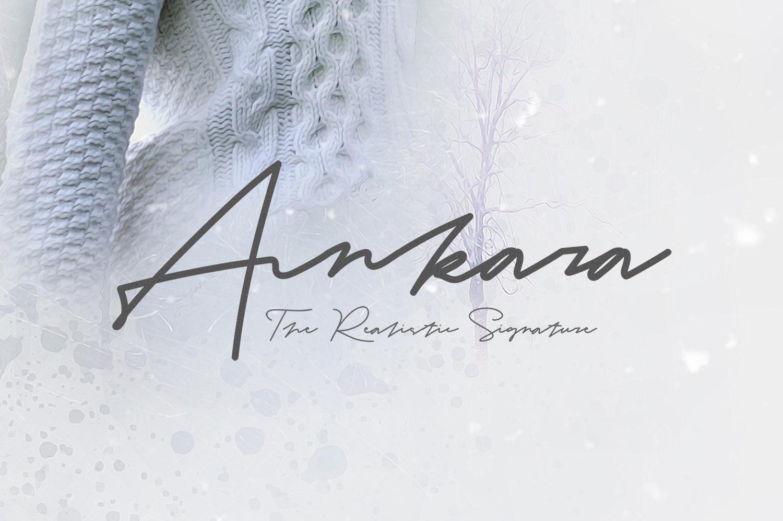 Ankara - The Realistic Signature example image 1