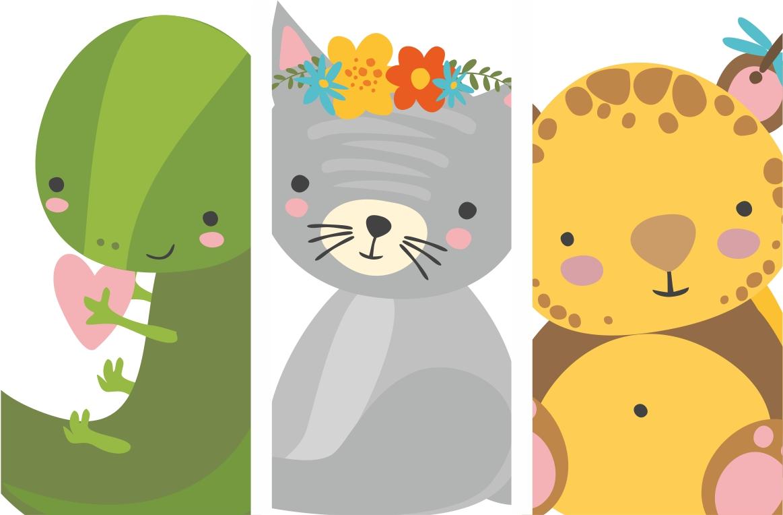 Alphabet animals for kids example image 4