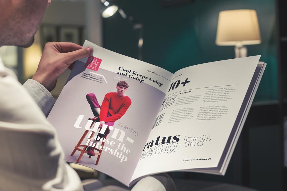 Fashion Magazine Layout Template example image 28