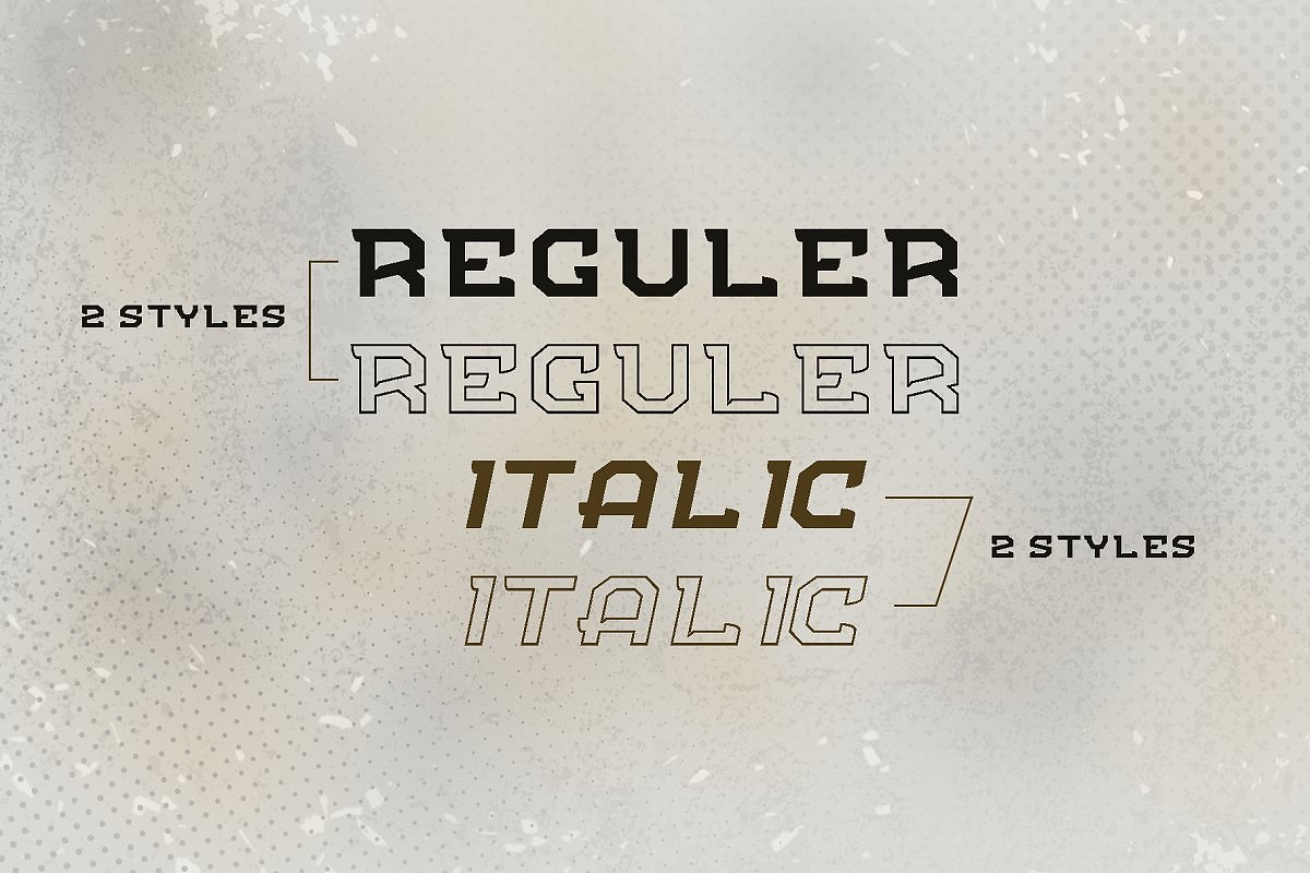 1 Fonts less than $1! Black Friday example image 11