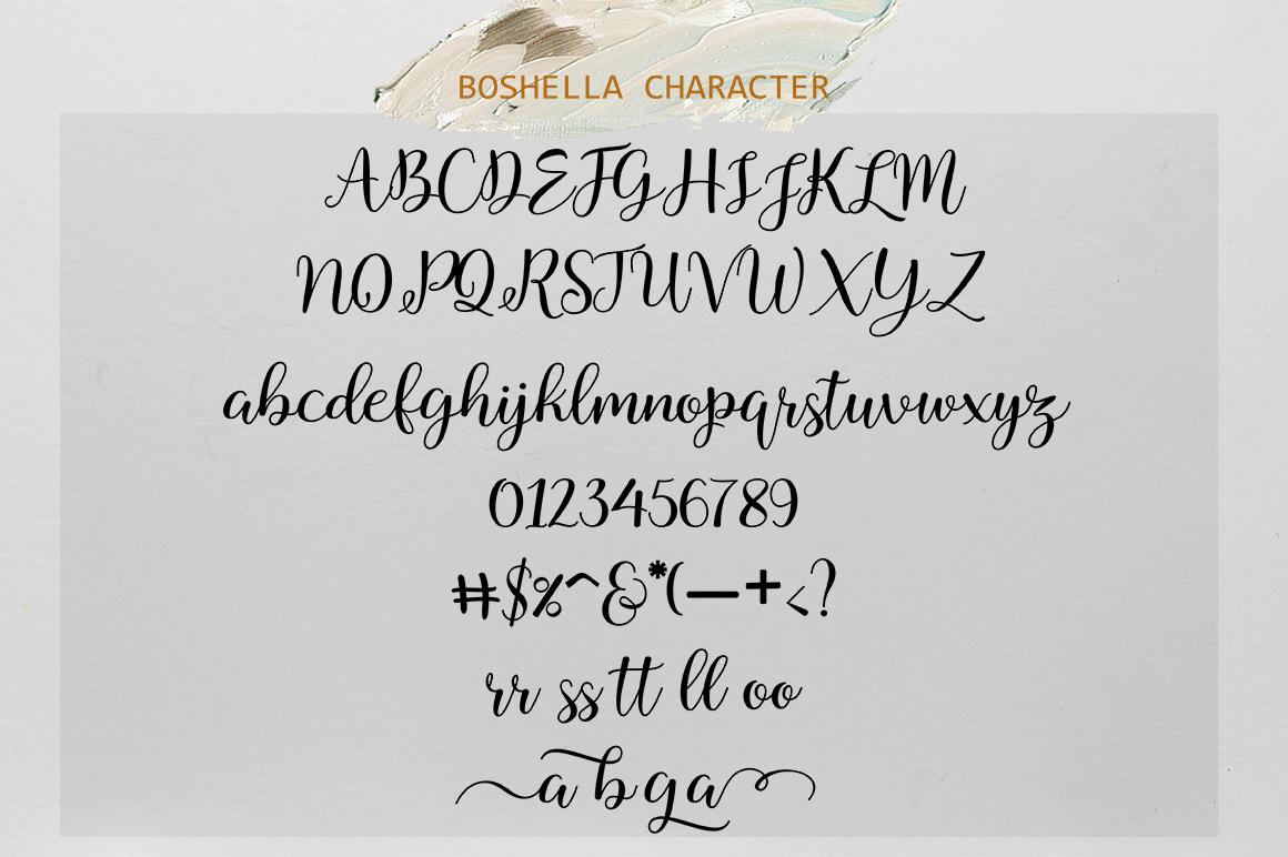 Boshella Script example image 6