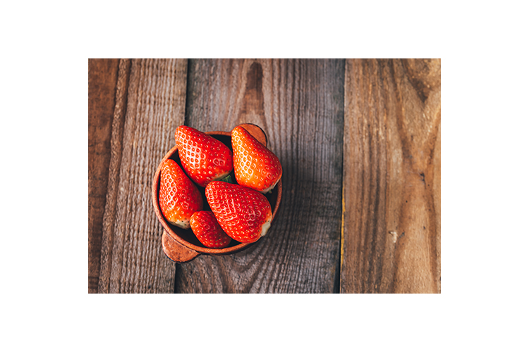 Bowl of fresh strawberries example image 1