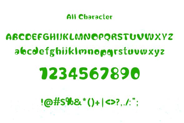 melloe fonts example image 2