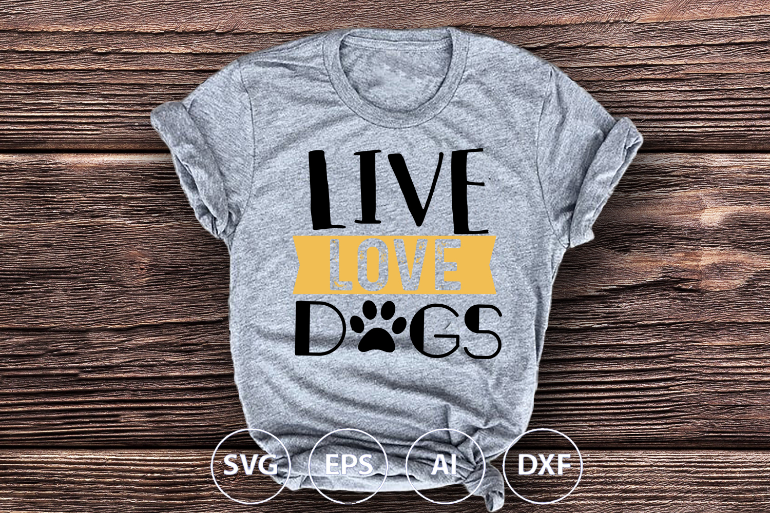 Live Love Dog example image 2