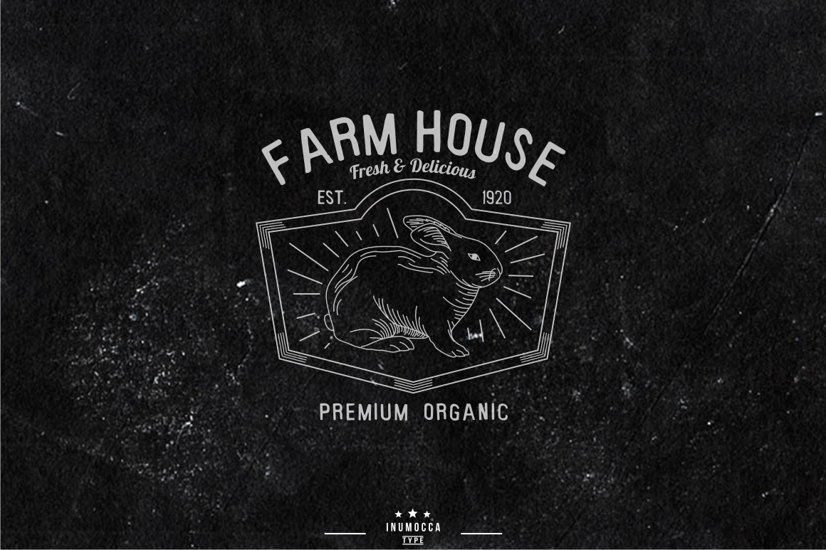 10 Farm Vintage (editable text) example image 2
