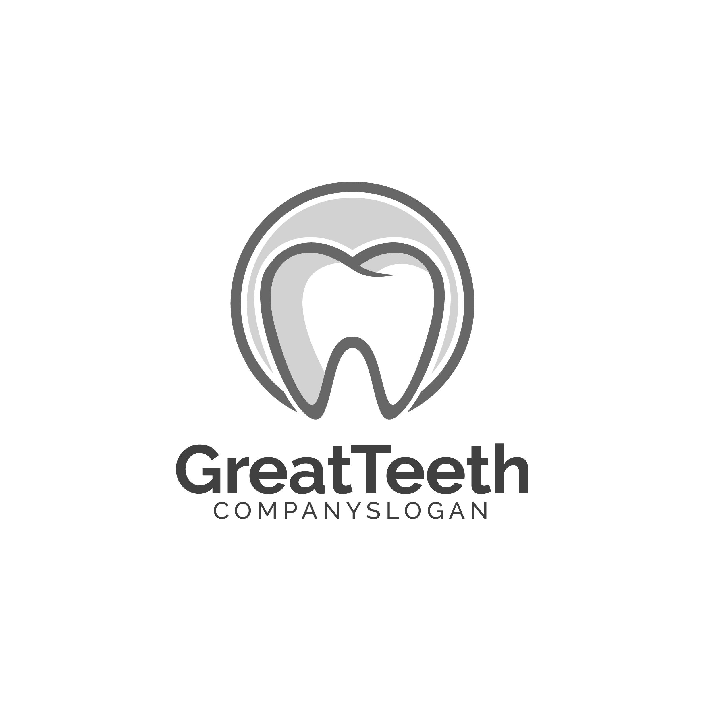 Great Teeth Dental Logo example image 5
