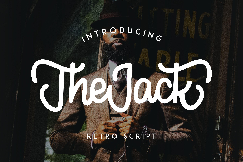 TheJack   Elegant Retro Script example image 1