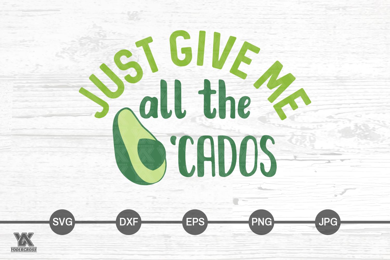 Avocado SVG example image 4