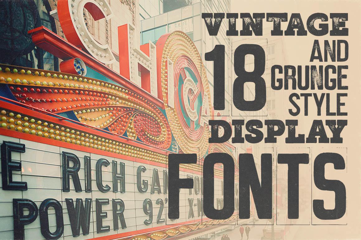 Marquee - 18 Grunge Fonts example image 4