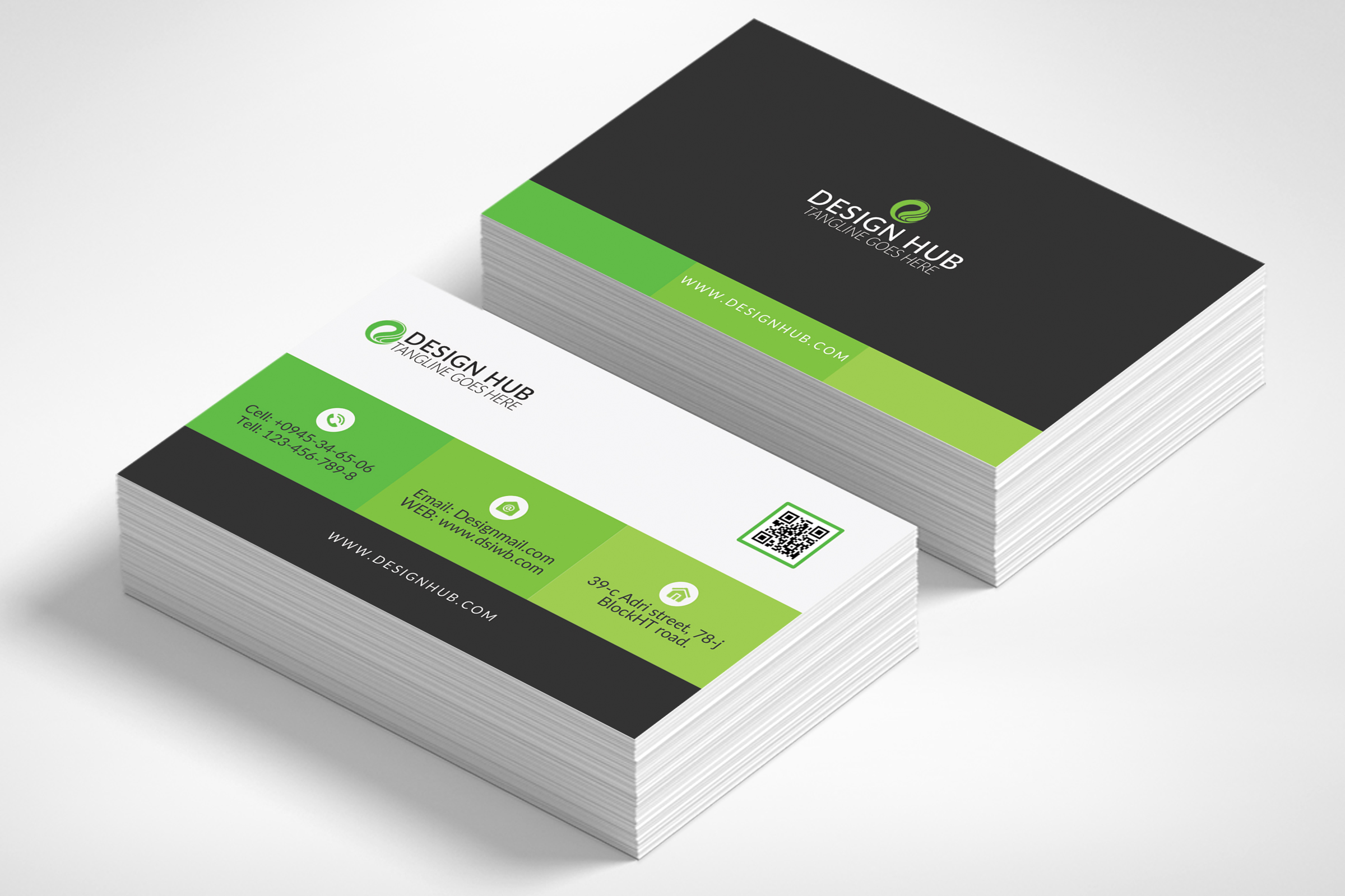 Business card template business card template example image 1 accmission Choice Image