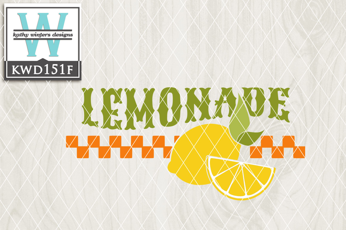Lemon Cutting File KWD151F example image 1
