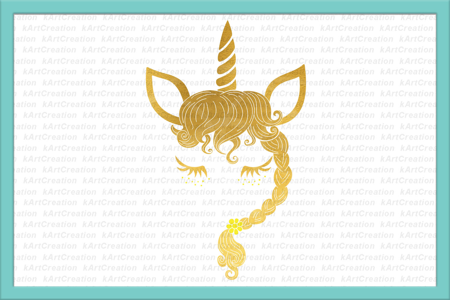 Unicorn Mermaid bundle svg dxf files clipart printable png example image 8