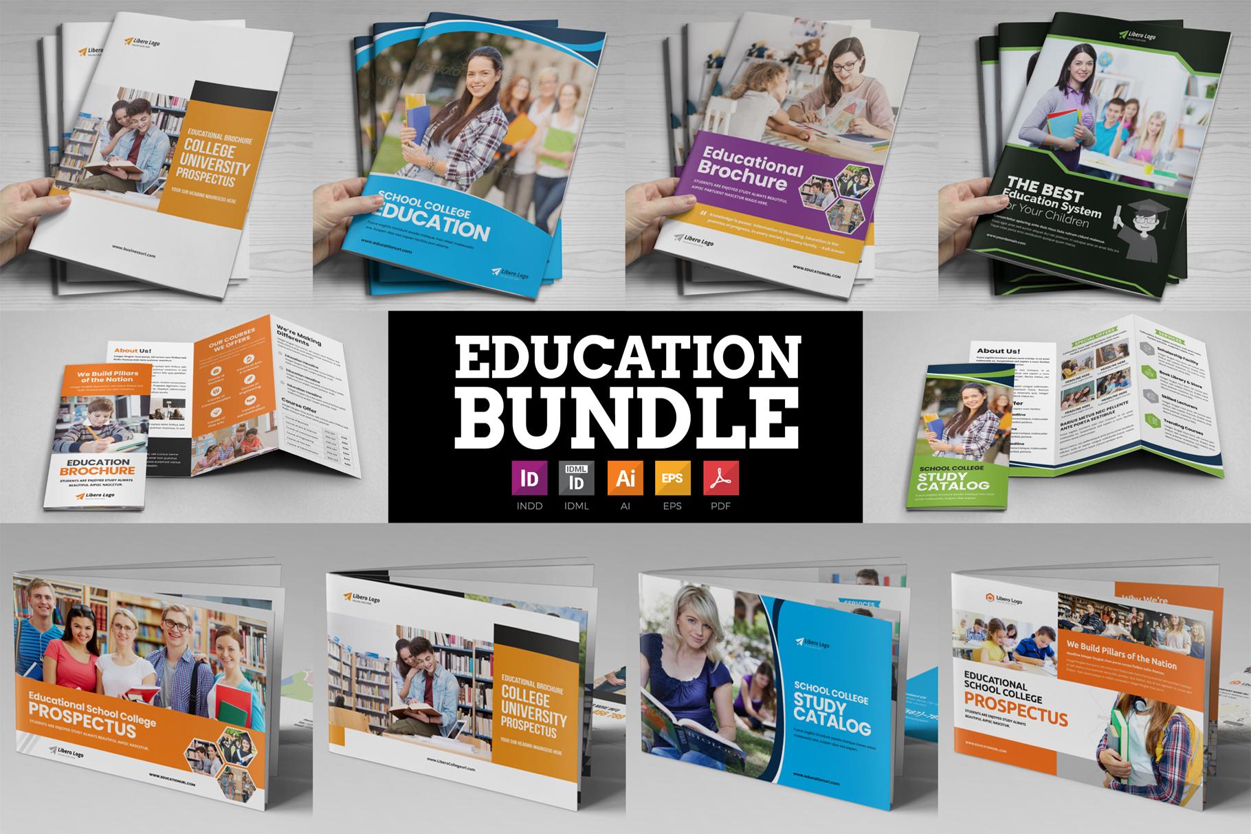 Education Brochure Bundle v2 example image 1