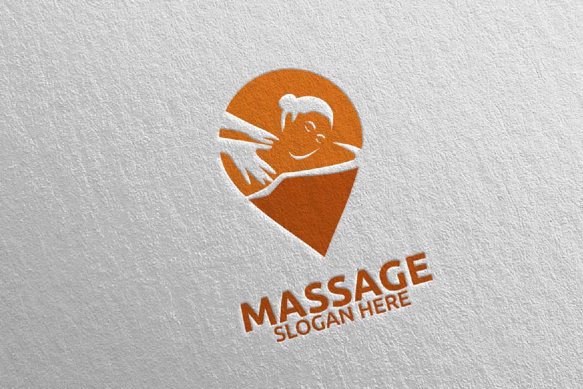 Massage Logo Design 10 example image 1