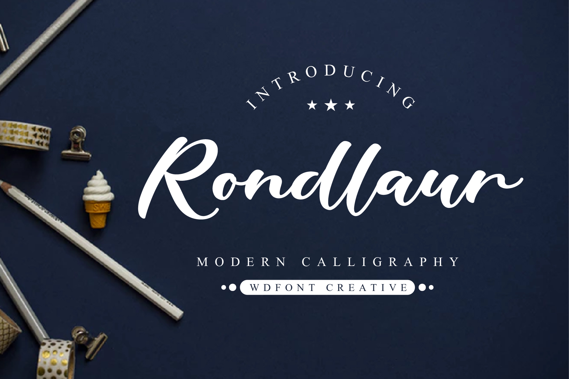 Rondlaur | Modern Calligraphy example image 1