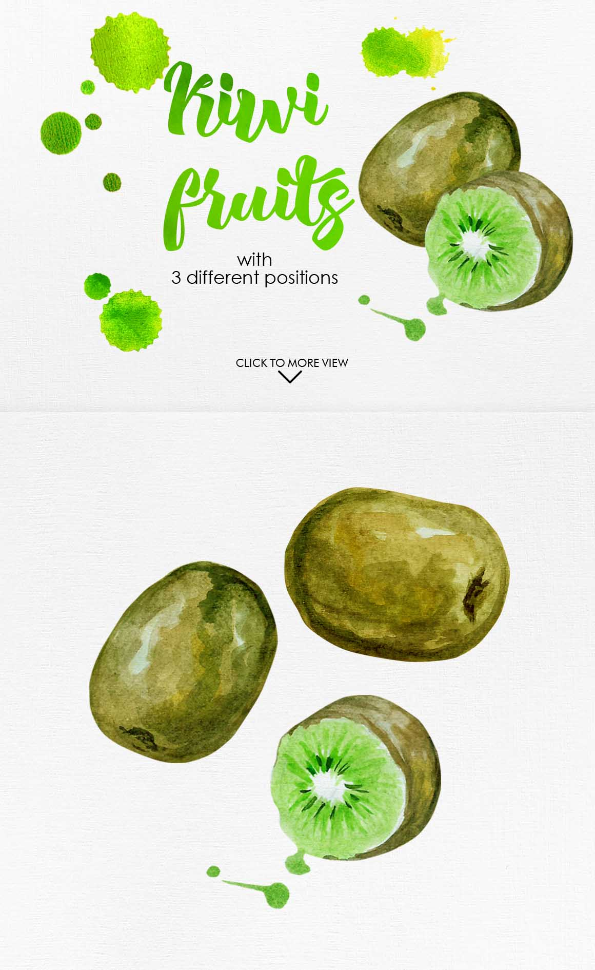 Watercolor Fruits Vol. 3 example image 6