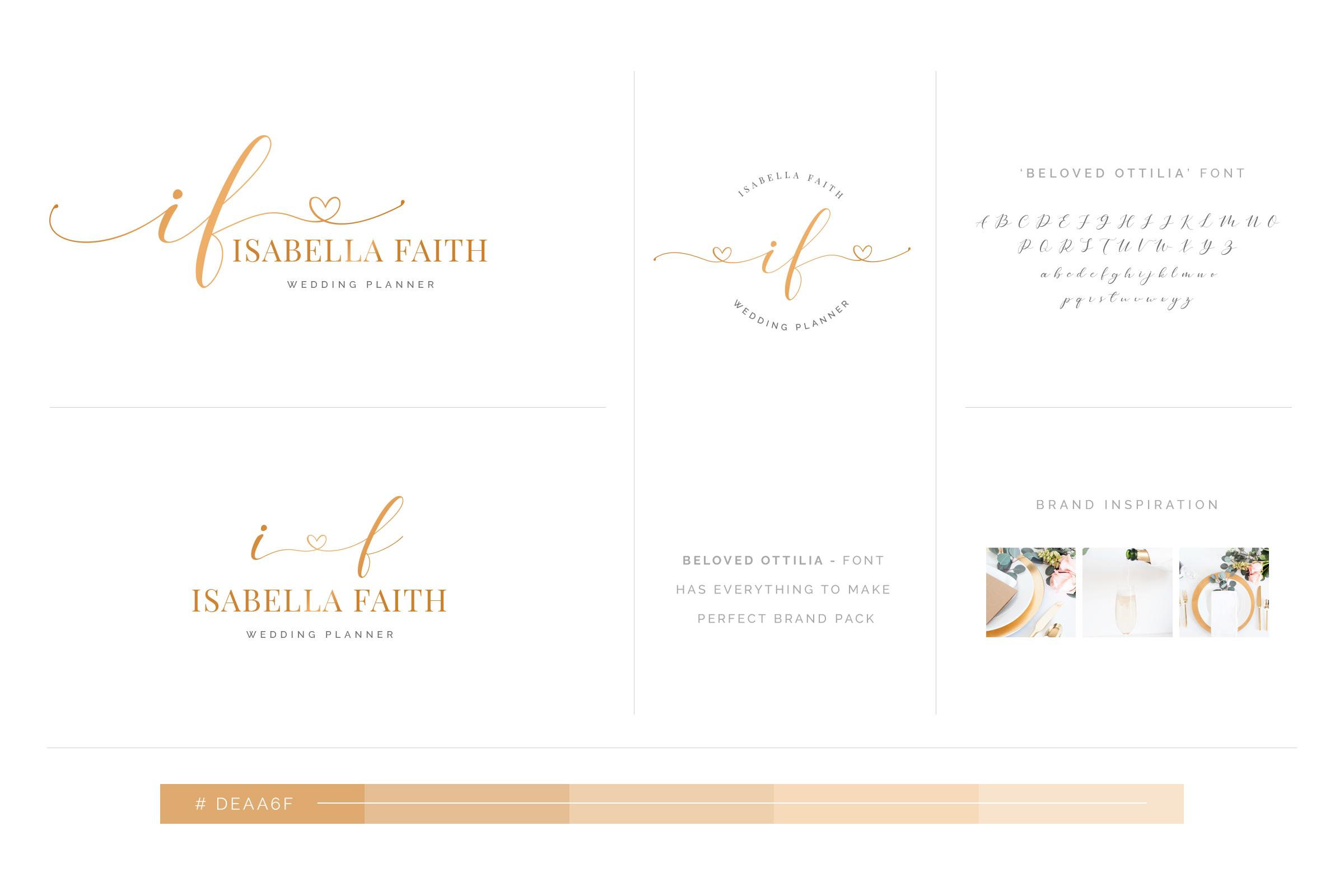Beloved Ottilia Font 60 Free Logos example image 15