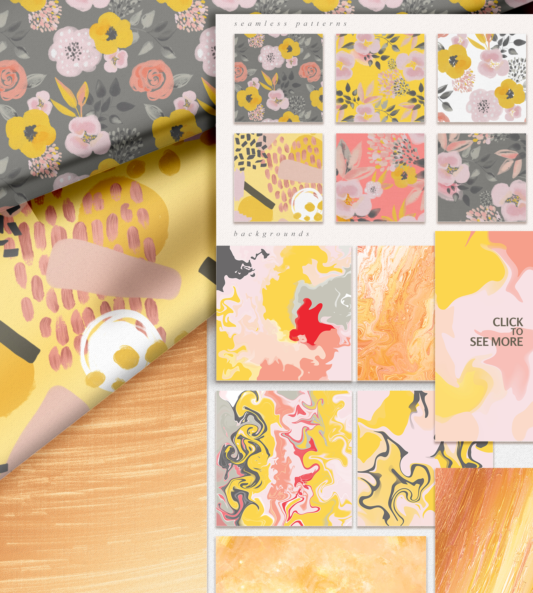 Colorful Mess & Gold Vol.2 example image 10