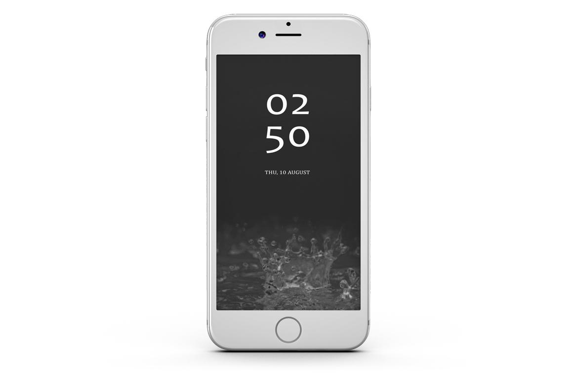 iPhone 7 Jet Black Edition Mockup example image 4
