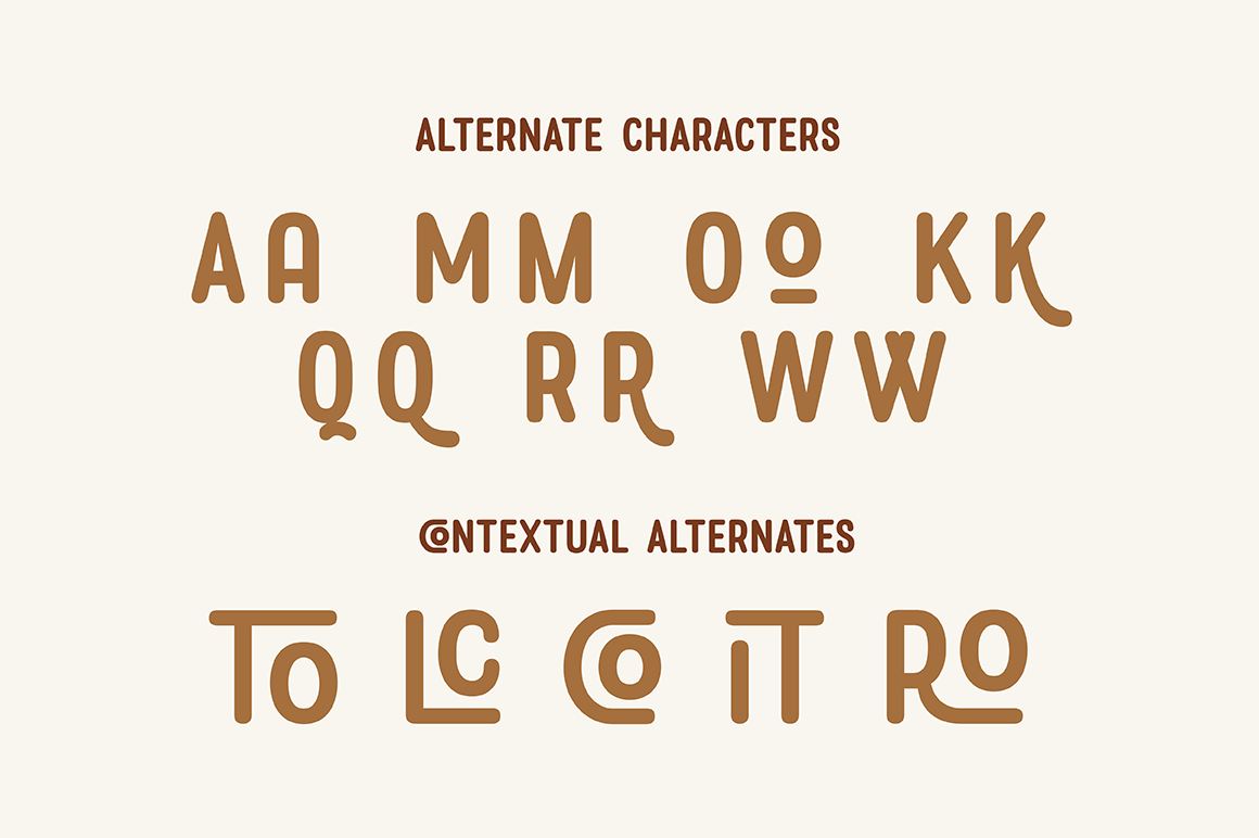 Rolade Typeface example image 4