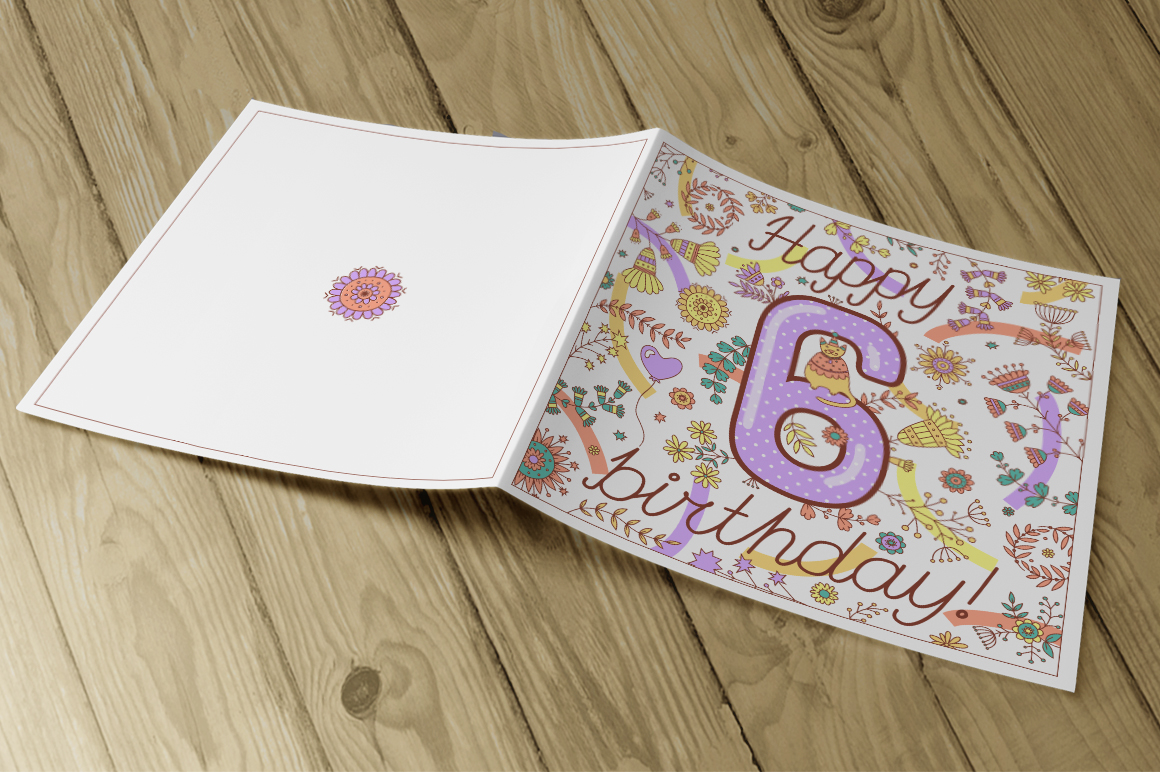 Birthday greeting cards collection example image 6