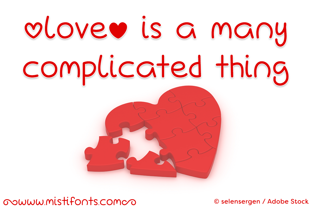 Love Is A Many Complicated Thing example image 1