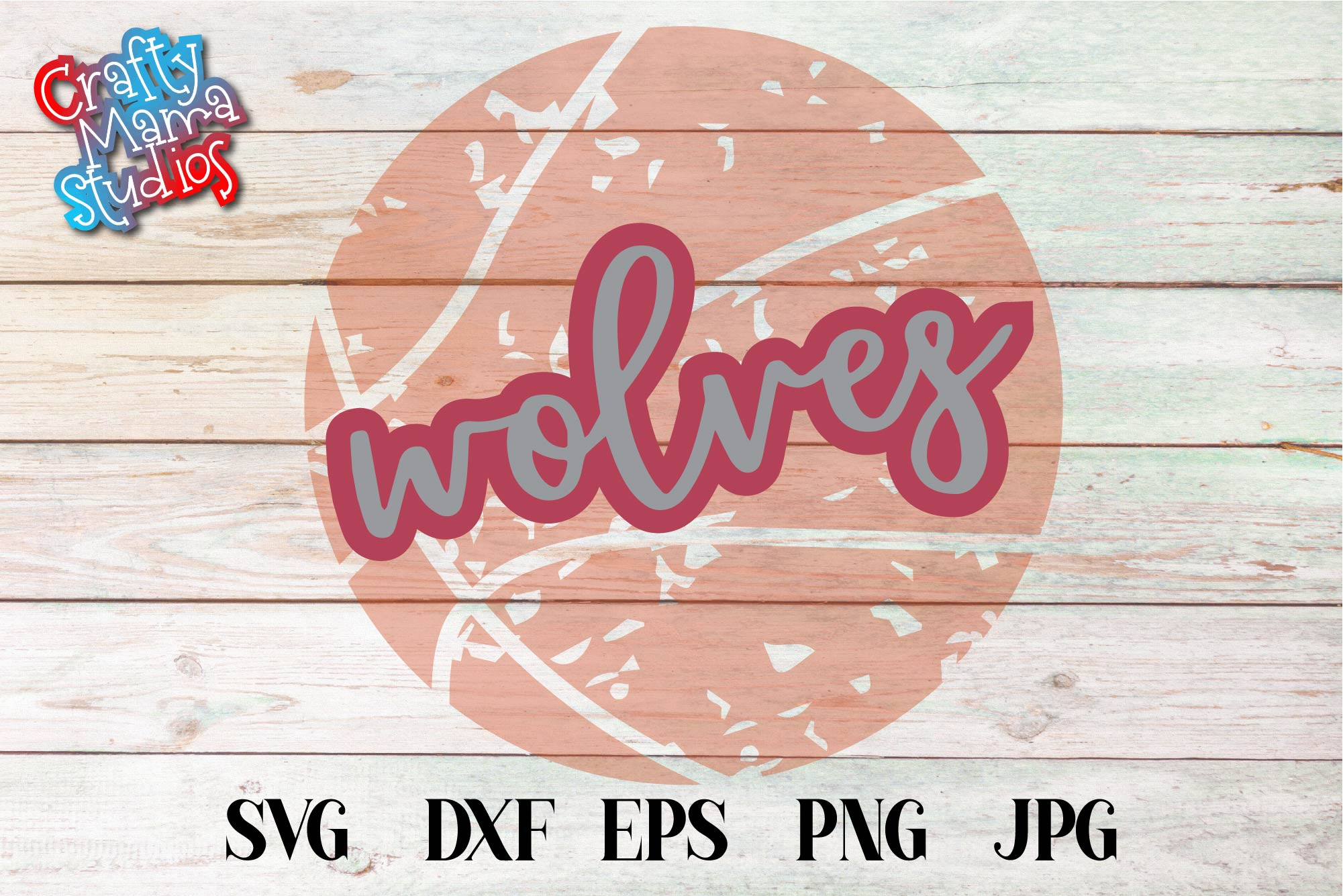 Sports SVG, Wolves Basketball SVG, Sports Sublimation example image 2
