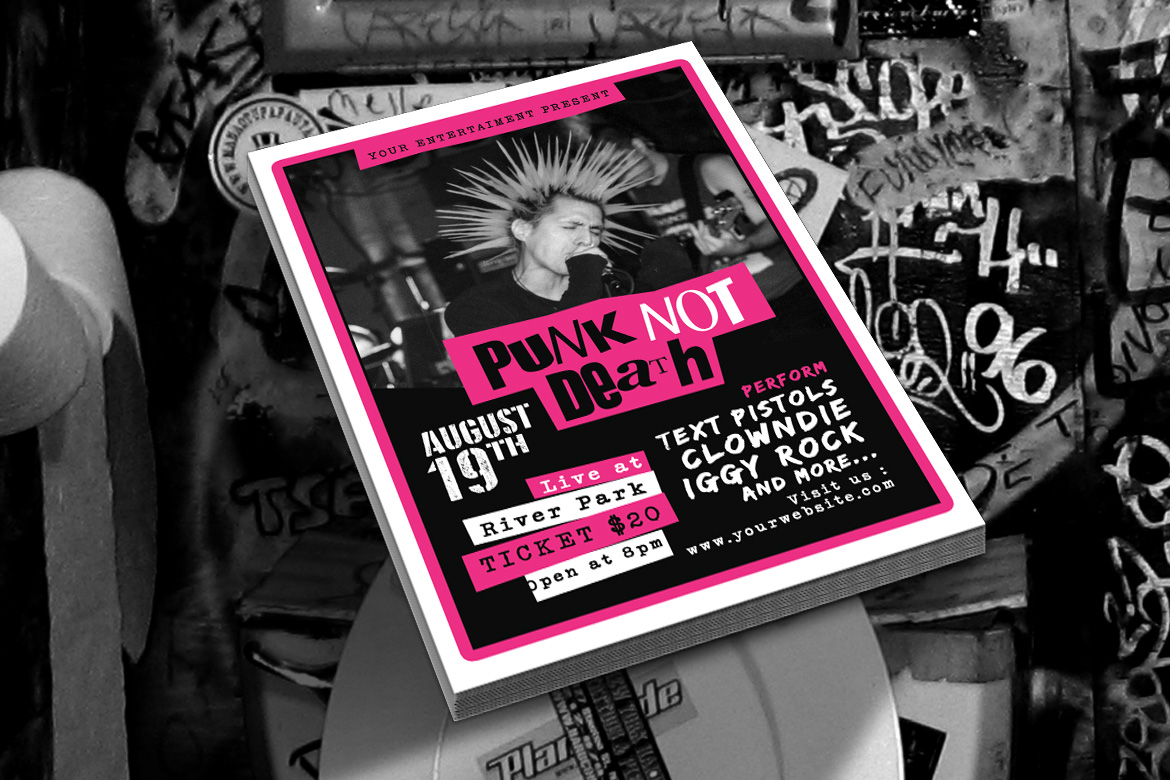 Punk Rock Music Event example image 3