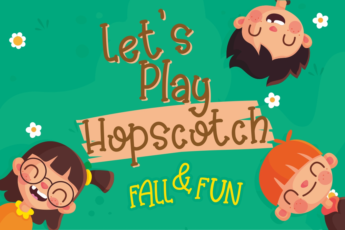 Kinder Games Cute & Fun Typeface example image 2