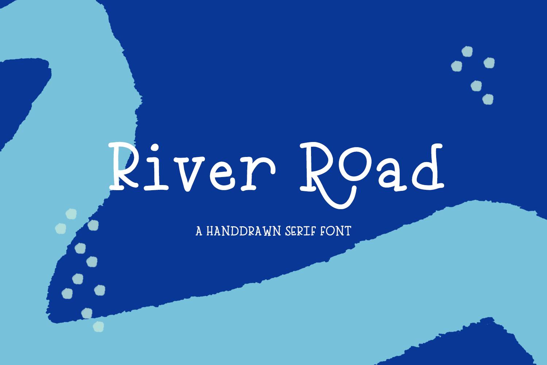 River Road Typewriter Serif example image 1