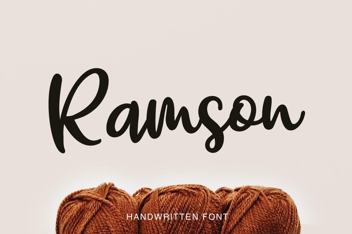 Ramson example image 1